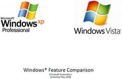 Microsoft Windows Vista vz. Windows XP - Bild - Logo