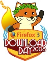 Logo - Firefox 3 Download Day 2008
