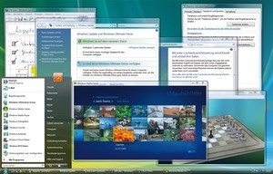 Microsoft Windows Vista Desktop