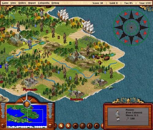 FreeCol - Screenshot