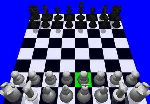 3D Schach - Screenshot