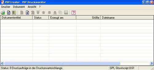 pdfcreator - druckmonitor