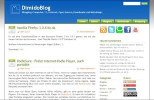 Screenshot DimdoBlog
