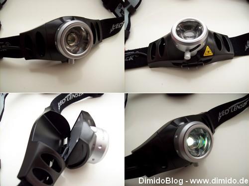 Bilder der H7R Stirnbandlampe