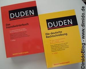 Bild - Duden Doppelpack Rechtschreibung + Fremdwörterbuch