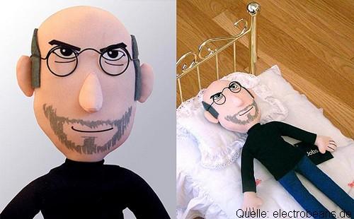 Bild - Steve Jobs Puppe