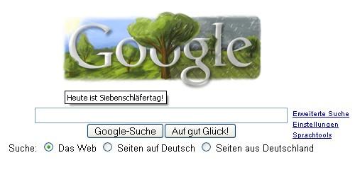 Google sein Doodle