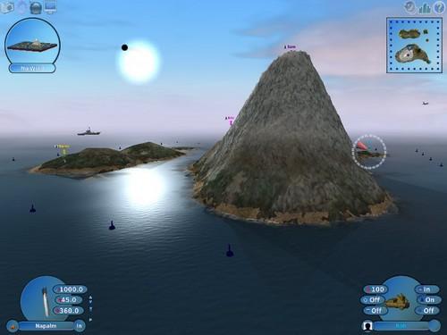 Screenshot von Scorched 3D