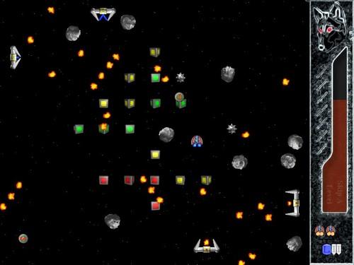 Screenshot von Solarwolf