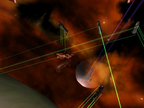 Screenshot von Vega Strike