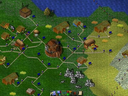 Screenshot von Widelands