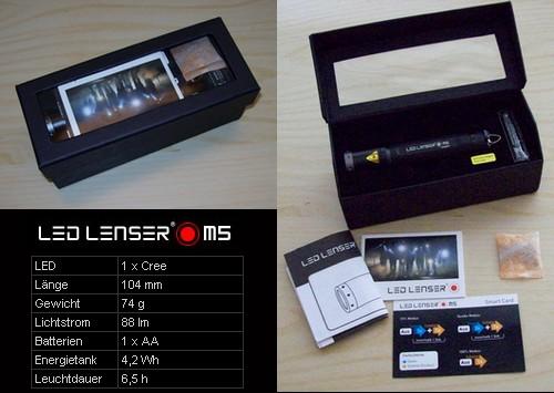 LED LENSER M5 - Taschenlampe