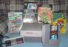 Nintendo NES mit 5 Games