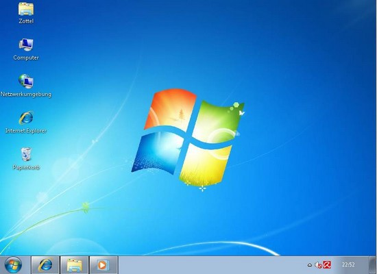 Neuer Desktop mit SevenMizer