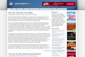 Homepage von Andreas Viklund