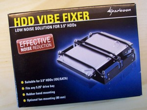 Verpackung von Sharkoon HDD Vibe Fixer