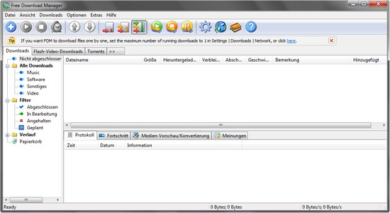 Open Source - Free Download Manager 3.0