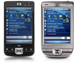 Smartphones von Hewlett-Packard (HP) mit Microsoft Windows Mobile