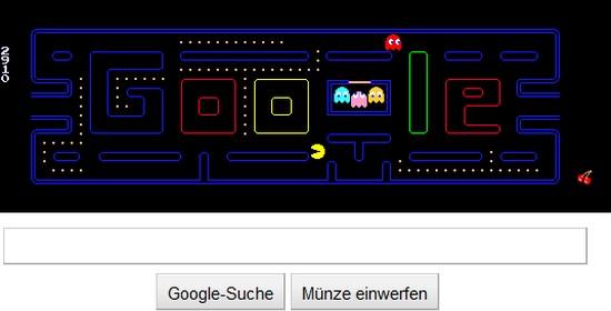 Google Doodle: Pac-Man