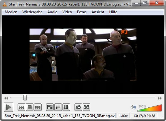 VideoLan VLC Media Player 1.1