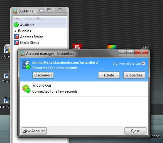 Instantbird 0.2 ein Instant-Messenger