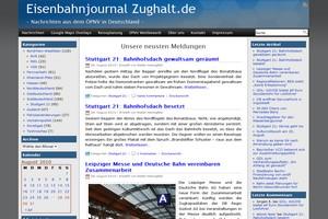 Eisenbahnjournal Zughalt: News und Information über Bus und Bahn
