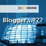 Gibt es überhaupt CDU und CSU Blogger?