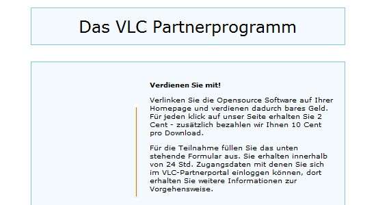 Partnerprogramme für Open Source und Freeware