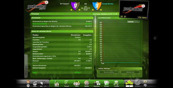 goalunited 2011 – Fussballmanager als Browser und Online-Game