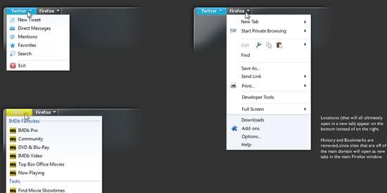 Firefox 5.0: Erste Design-Entwürfe veröffentlicht