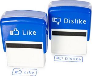 """Facebooks """"Gefällt mir""""-Button für Büro und Offline-Welt"""