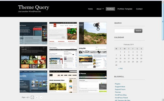 WordPress Themes, Templates - Portfolio Theme