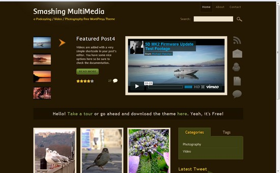 WordPress Themes, Templates - Smashing Multimedia