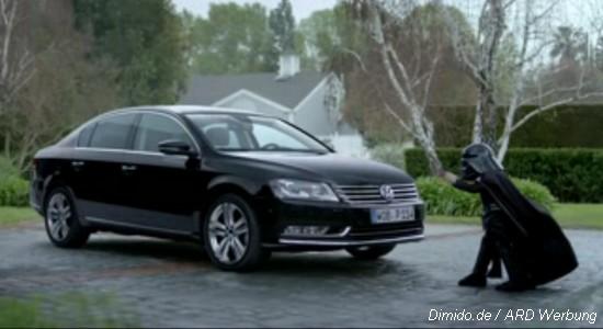 Neue VW Passat TV-Werbung: Darth Vader reloaded