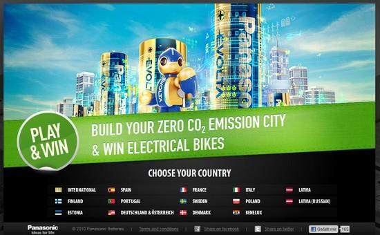 Evolta City – Kostenloses Onlinegame von Panasonic