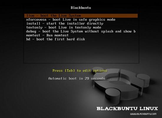 Das schwarze Ubuntu, Linux für die Sicherheit: Blackbuntu