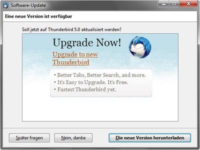 Mozilla Thunderbird 5 ist da – Freier E-Mail-Client in neuer Version