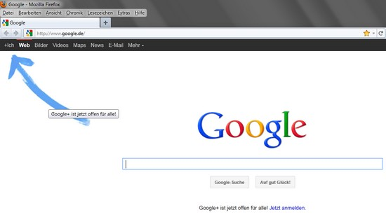 Google+ ist jetzt offen für alle
