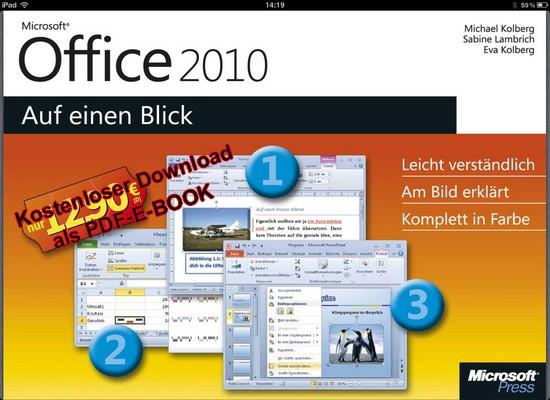 Download als PDF: Microsoft Office 2010 - Auf einen Blick
