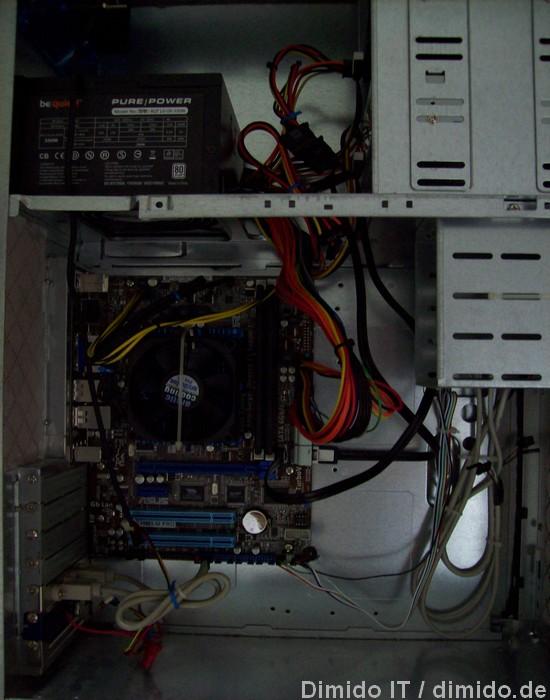 Praxis: Asus E45M1-M PRO, be quiet 300W Netzteil und 8 GB DDR3 Speicher