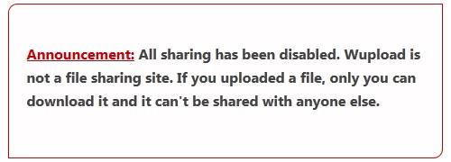 Sharehoster Wupload und Fileserve schalten sich ab