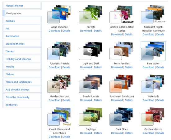 windows, theme, wallpaper, desktop, themepack, pack, sammlung, microsoft