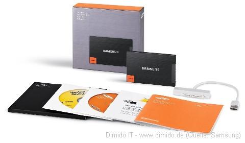 Samsung SSD mit Zubehör - SSD Festplatten im Vergleich, Welche sollte man kaufen