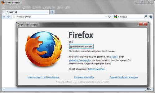 Firefox soll Speicherverbrauch deutlich verringert haben