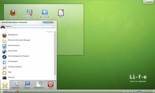 OpenSuse für Studierende, Schüler und Lehrer - KDE Desktop