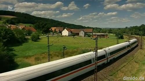 Reportage aus dem TV: Speisewagen bei der Bahn