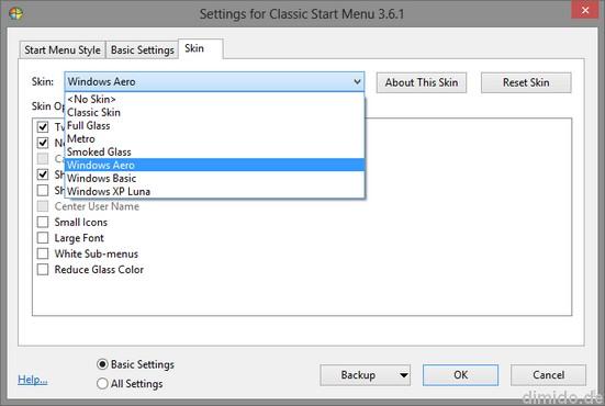 Startmenü, Startknopf für Windows 8 wiederbeleben