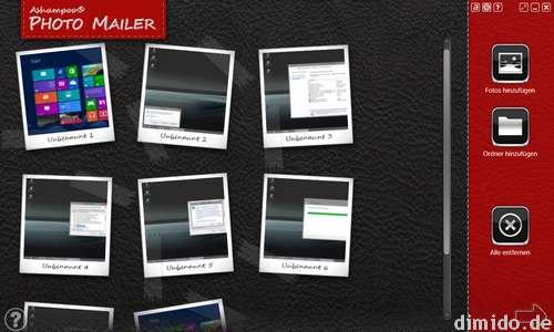 Ashampoo Photo Mailer - Versenden von Bildern per Mail kein Problem mehr
