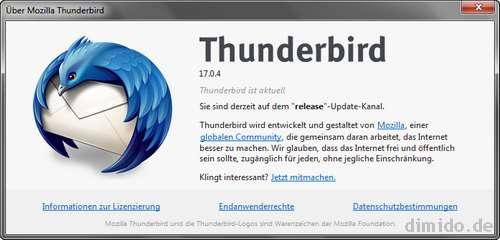 Thunderbird schließt Sicherheitslücke