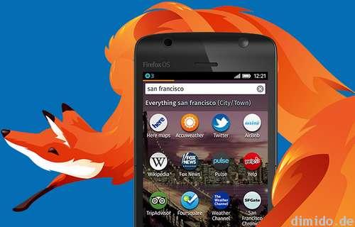 Firefox OS - Foxconn wird Smartphones und Tables fertigen